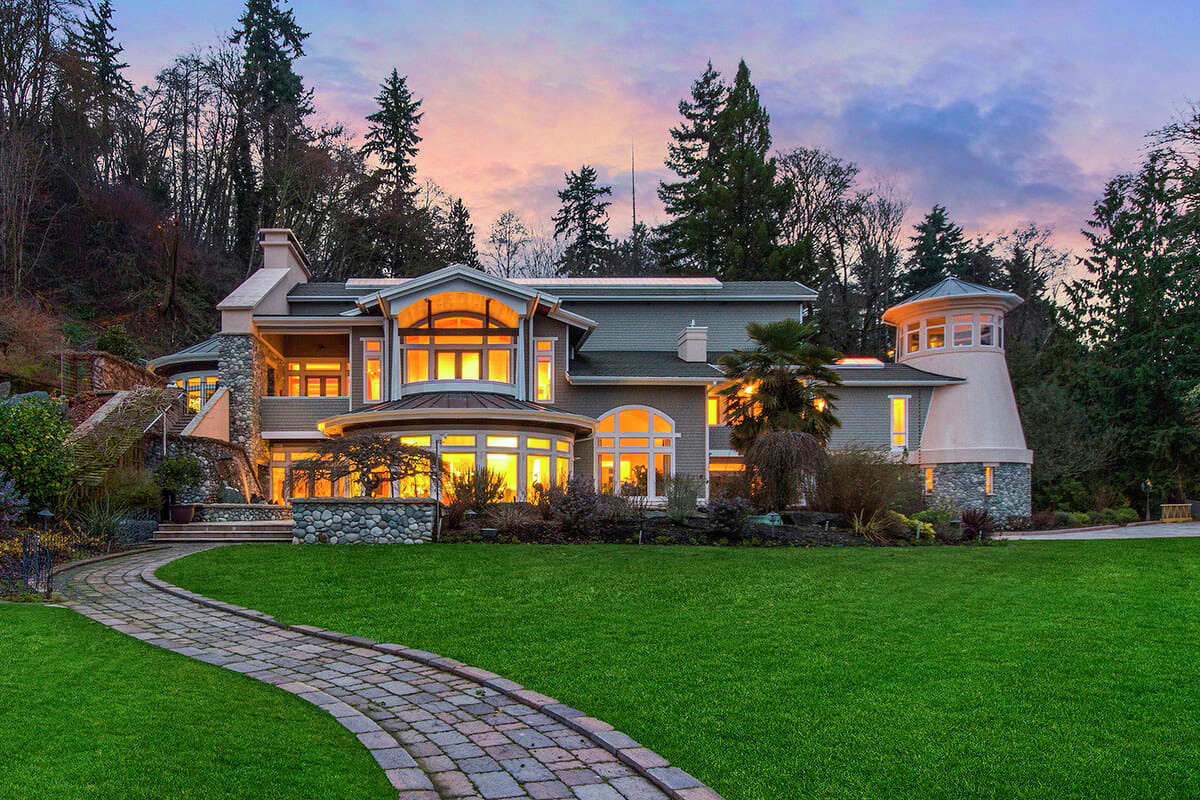The home at 8415 S.W. Soper Road is listed for $18 million.