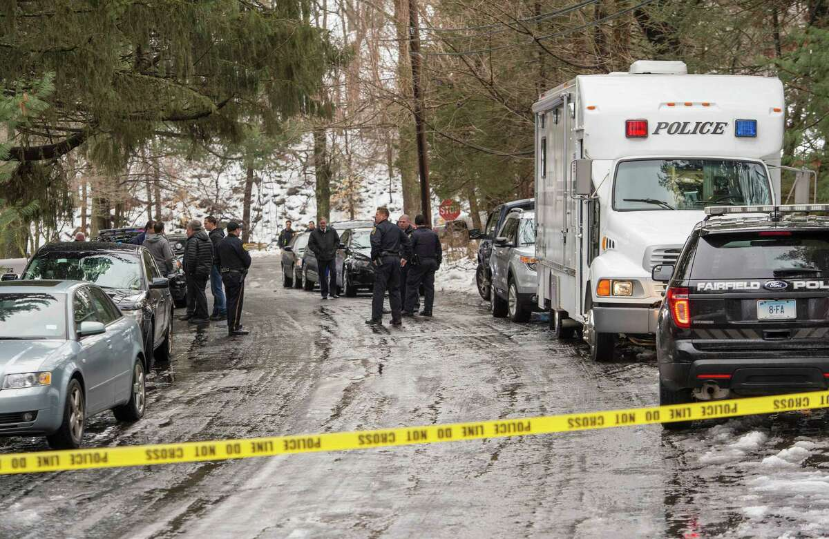 The father of a Mountain Laurel Road family was fatally shot by a police officer and four others hospitalized after what police call a