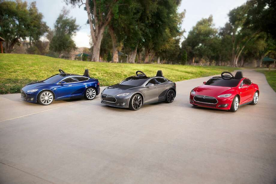 The Tesla Model S For Kids will ship in May. Photo: Courtesy Of Radio Flyer