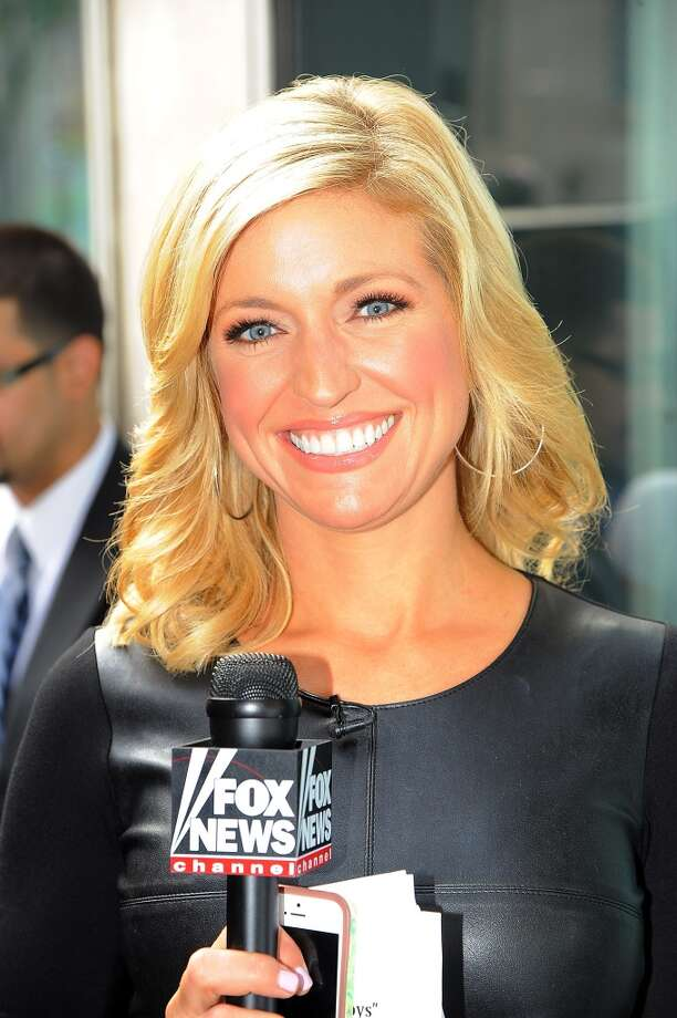 """Ainsley Earhardt attends Trace Adkins performance on """"FOX & Friends"""" All American Concert Series outside of FOX Studios on August 1, 2014 in New York City. Photo: Chance Yeh, FilmMagic"""