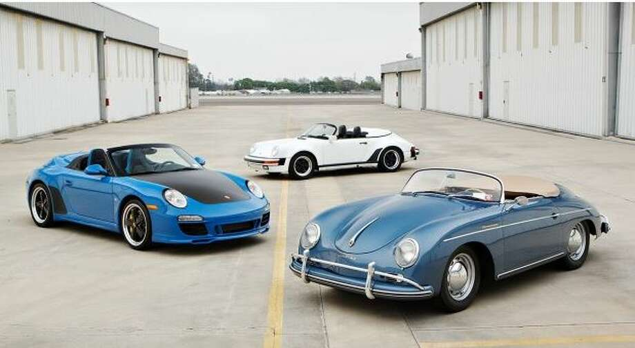 Comedian Jerry Seinfeld is auctioning off an assortment of his Porsches from his personal collection. The 16 vehicles have an expected total value of around $32 million. Photo: Seinfeld Collection, Courtesy