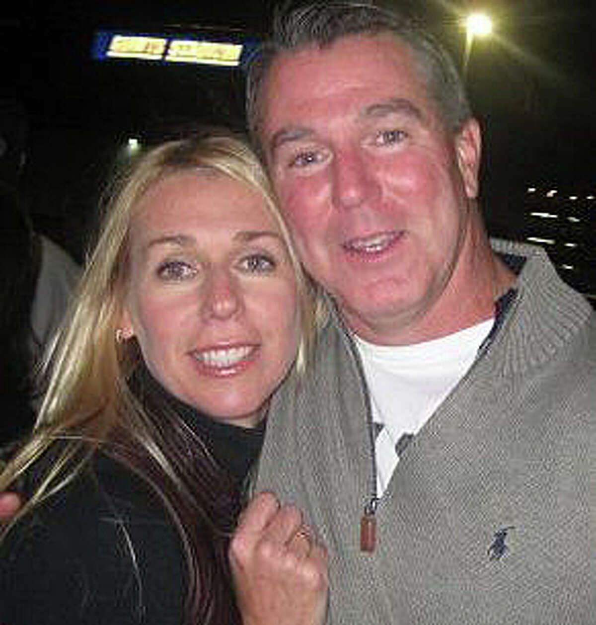 Kathleen and Christopher Andrews from their Facebook page.