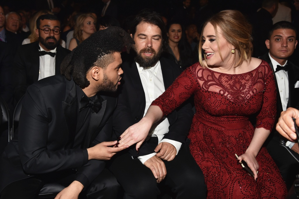 Marriage Rumors Swirl After Adele Rocks Dazzling Diamond