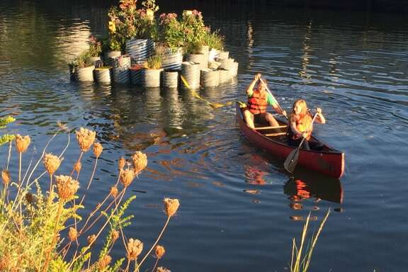 Launch of GrowOnUs, in Gowanus Canal.