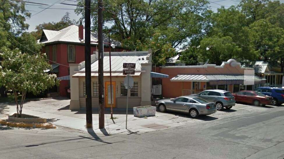 This building at 1001 Alamo Street was originally a gas station in the 1930s that was later converted into an ice house, the original Friendly Spot.