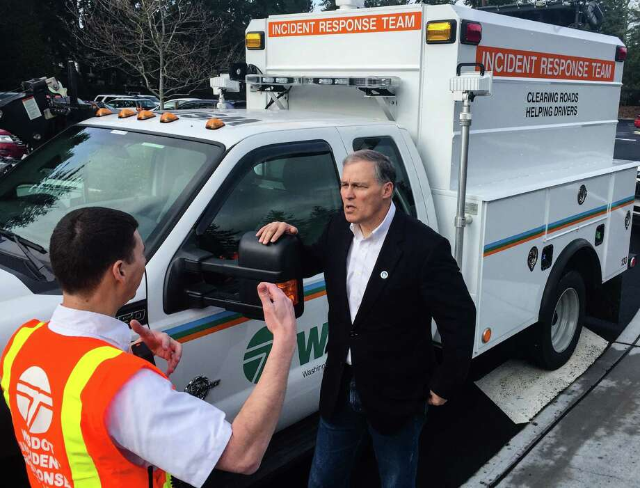 Jay Inslee, class of '73, served in the state House, then the U.S. House before election as governor of Washington in 2012. Photo: DANIEL DEMAY/SEATTLEPI.COM / 2016 SEATTLEPI.COM