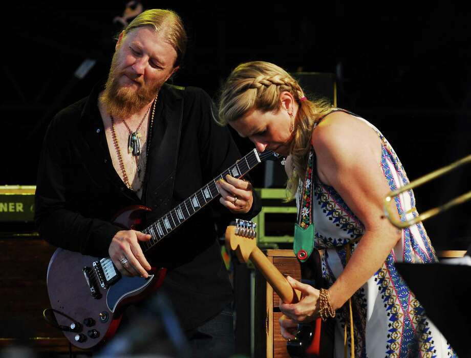 Derek Trucks and Susan Tedeschi with the Tedeschi Trucks Band will perform for the upcoming Greenwich Town Party. Photo: Christian Abraham / Hearst Connecticut Media / Connecticut Post/Contributed Photo