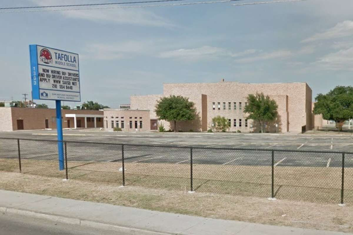 25. Tafolla Middle School,San Antonio Independent School District Out-of-school suspensions:177