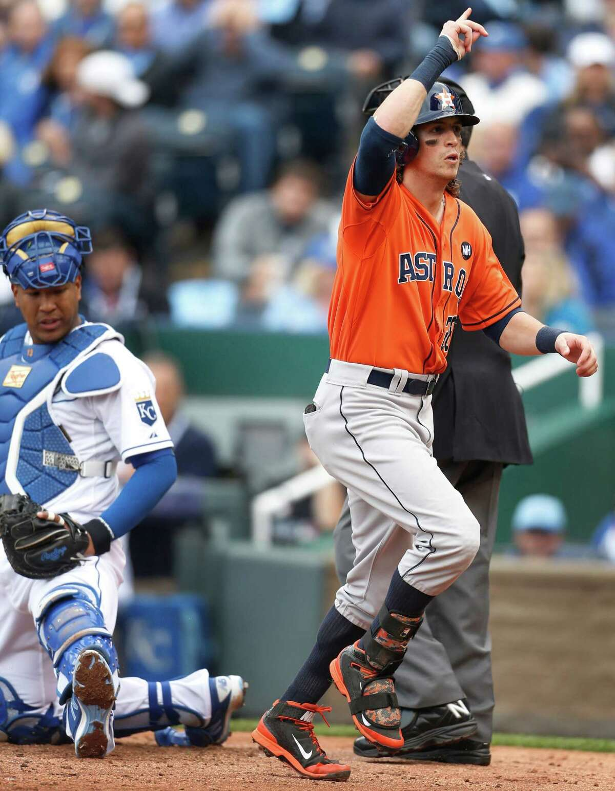 Colby Rasmus will try to build on a strong postseason in his second year with the Astros.