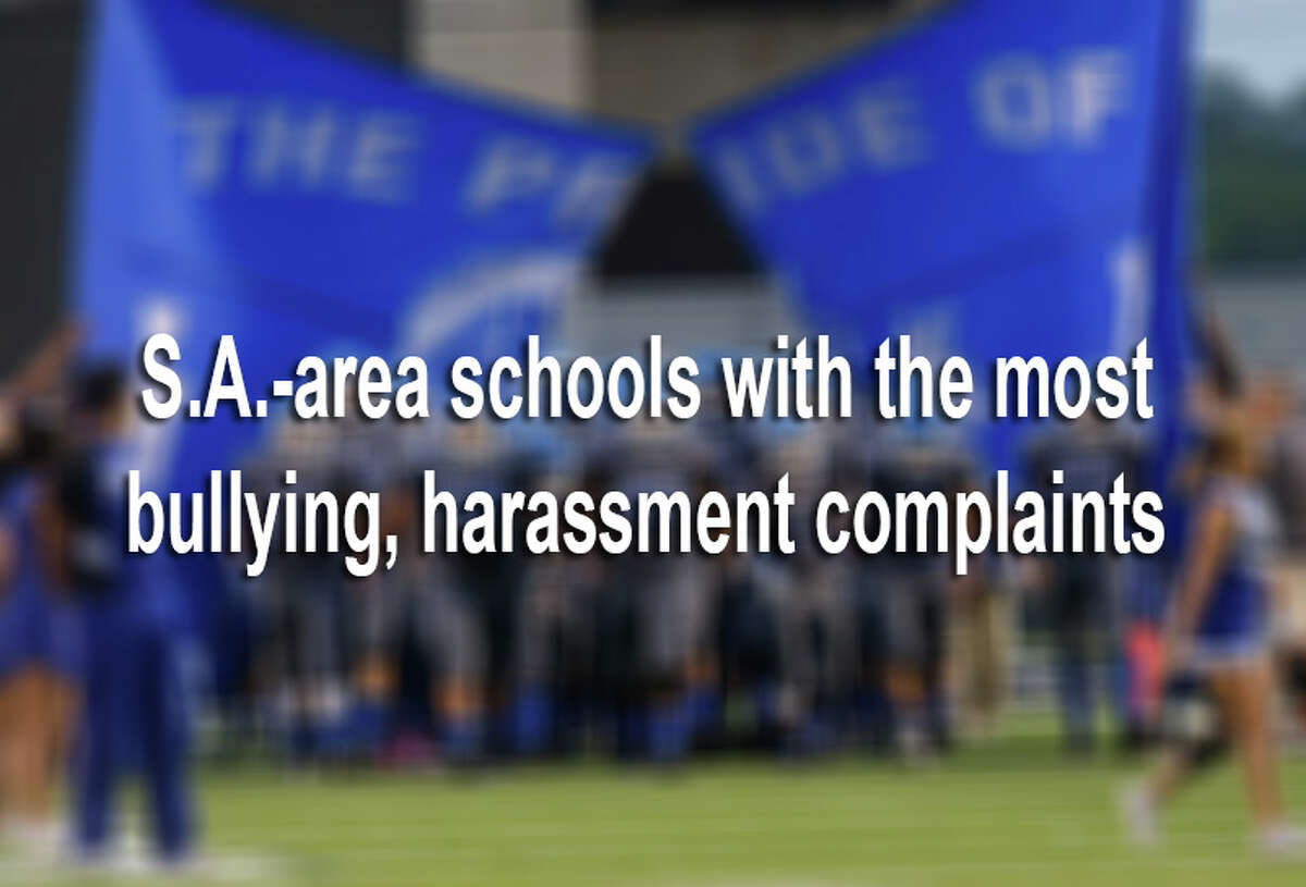 Here are the 48 San Antonio-area schools with the most bullying and harassment complaints during the 2014-15 school year.