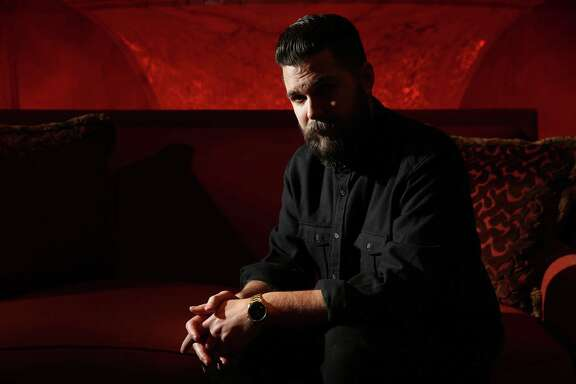 Writer-director Robert Eggers poses for a portrait on Feb. 9, 2016 at The Four Seasons in Chicago. (Abel Uribe/Chicago Tribune/TNS)