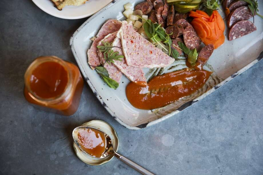 Tomato preserves at Cured. Photo: Julysa Sosa, For The Express-News