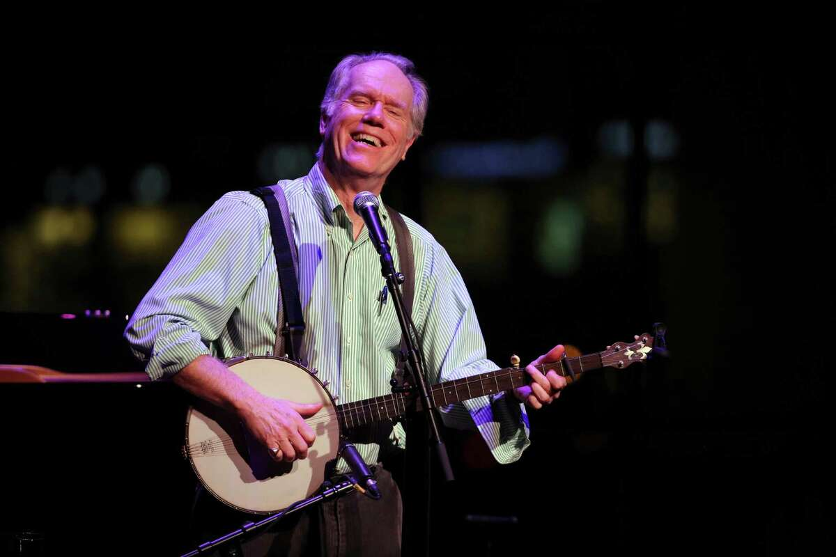 Loudon Wainwright II, April 24, Caffe Lena. Loudon Wainwright III performs at the Jazz at Lincoln Center's American Songbook series in New York, Jan. 22, 2016. Wainwright?'s one-man concert, in which he accompanied himself on guitar, banjo and occasionally piano, covered the arc of his career, from his beginnings as a preppy prodigy to the present. (Richard Perry/The New York Times ) ORG XMIT: XNYT45