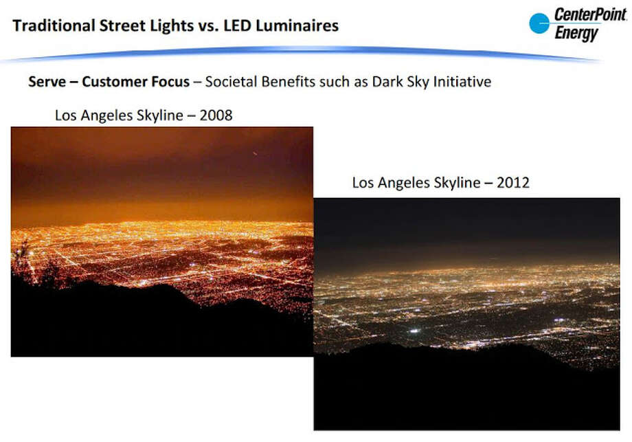From a presentation by CenterPoint. Photo: CenterPoint Energy