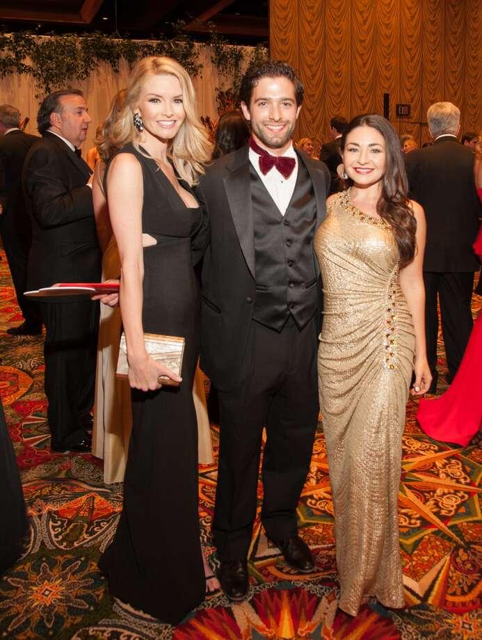 Amanda Weiser, Chad Soloman, and Bella Barak