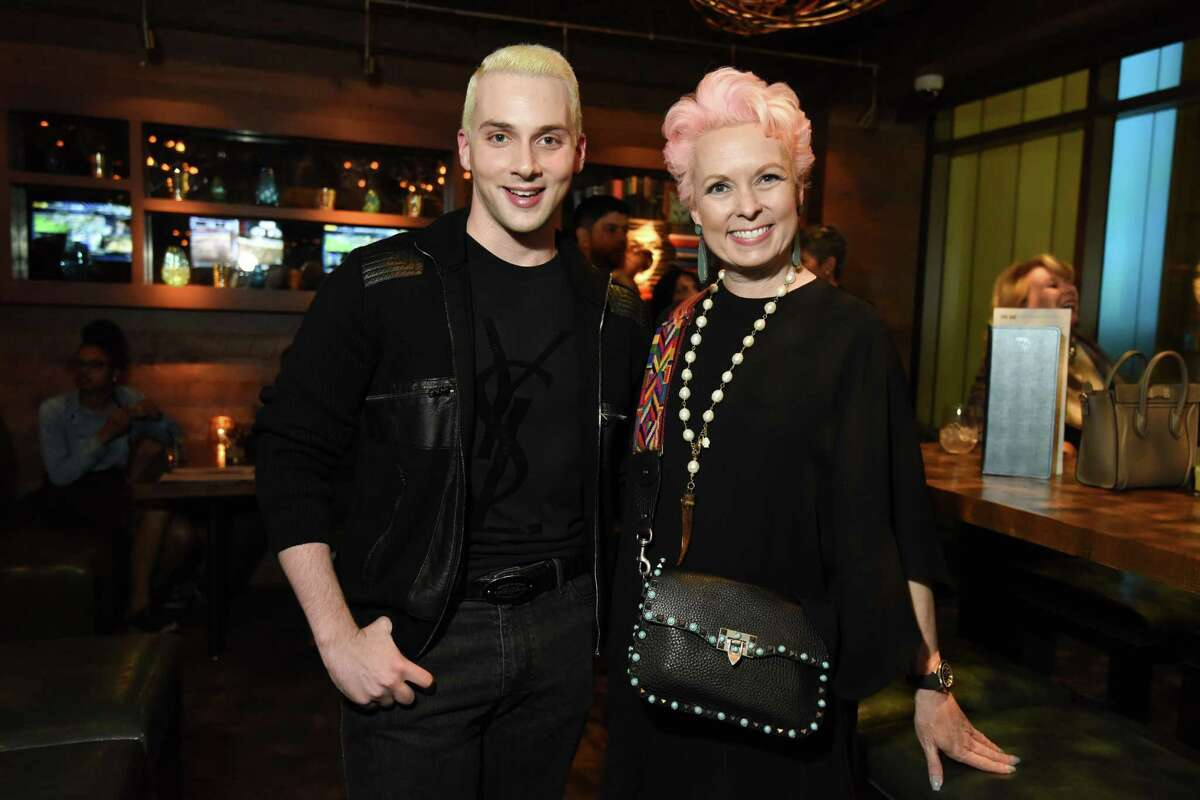 Jonathan Blake and Vivian Wise at Heart of Fashion Event
