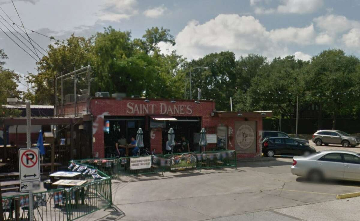 Saint Dane's 502 Elgin, Houston, Texas 77006 Demerits: 64 Inspection highlights: Failure to provide hot water. Ice not safe for human consumption; condemned approximately 1200 lbs of ice contaminated by slime. Photo by: Google Maps