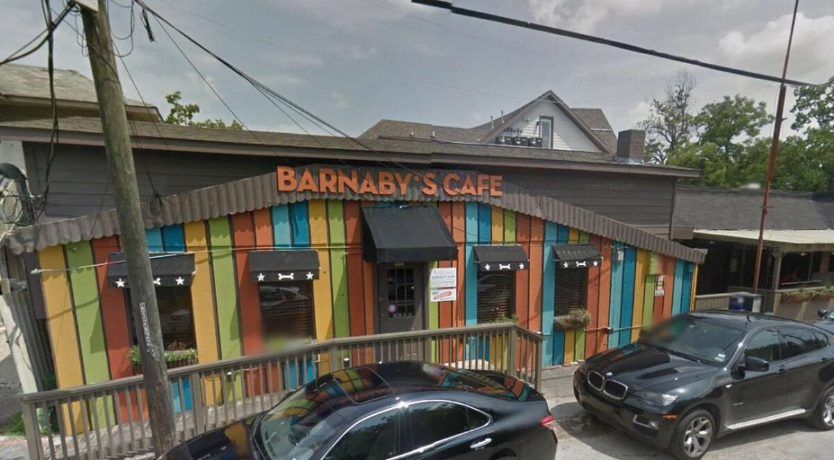 Barnaby's Cafe 604 Fairview, Houston, Texas 77006 Demerits: 16 Inspection highlights: Food (sour-cream/ricotta cheese/yogurt) not safe for human consumption; condemned approximately 43lbs of foods held at temperatures above 41*F for more than 4 hours. Photo by: Google Maps