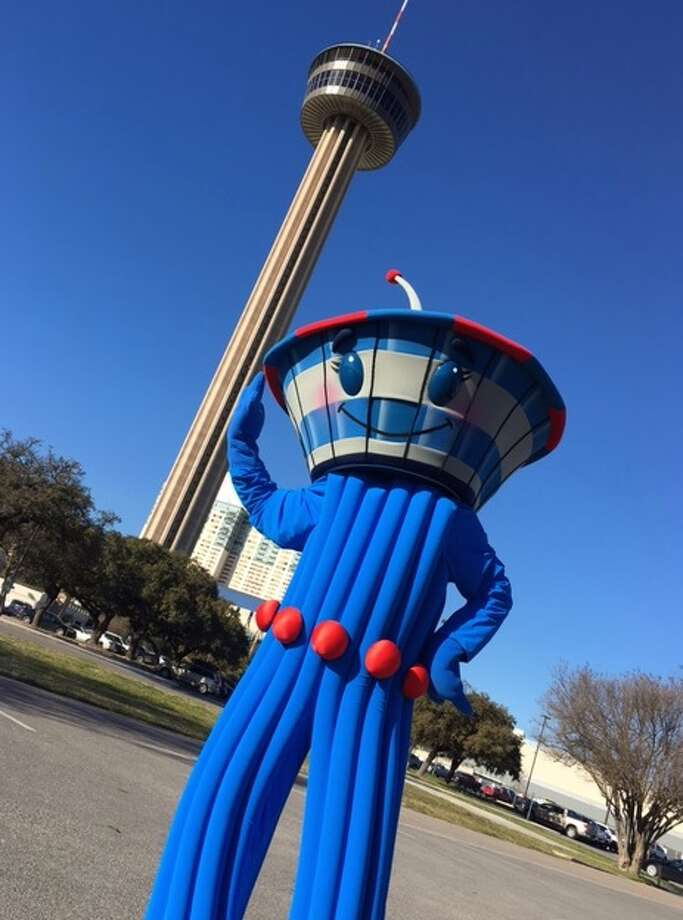 The Tower of the Americas is adding a character to San Antonio's posse of beloved mascots. The only problem is, it's nameless.