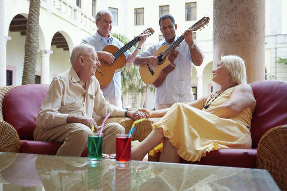 Residents of the Conservatory enjoy themed parties.