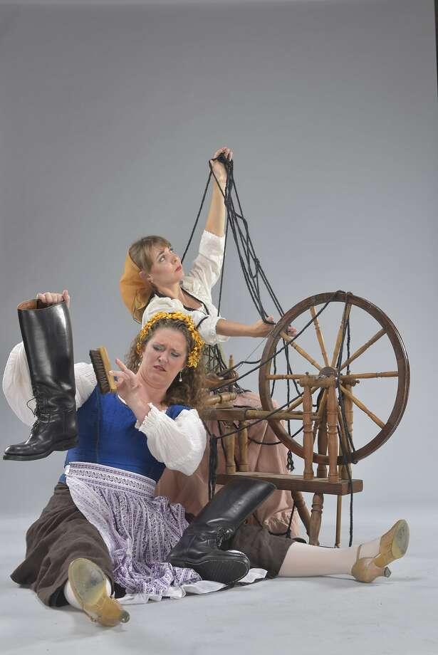 "Jennifer Ashworth and Tania Mandzy in Flotow's ""Martha."" Photo: David Allen"