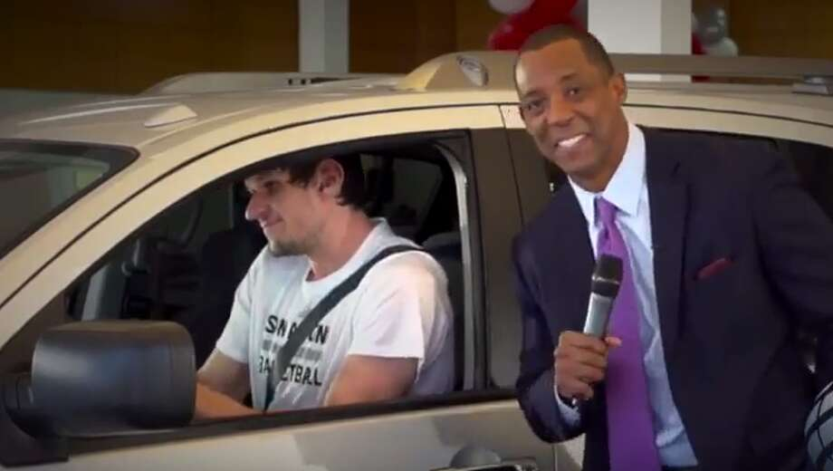 World Car Nissan San Antonio >> Boban Marjanovic makes hilarious acting debut in car ...