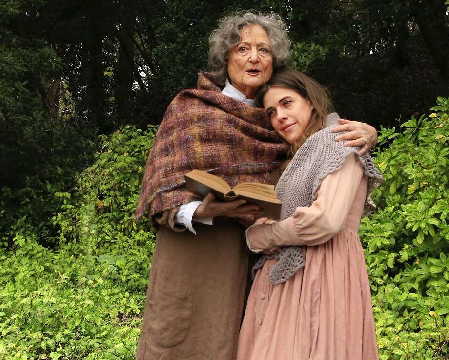 Patricia Silver and Roselyn Hallet in Word for Words production. Photo: Mel Solomon
