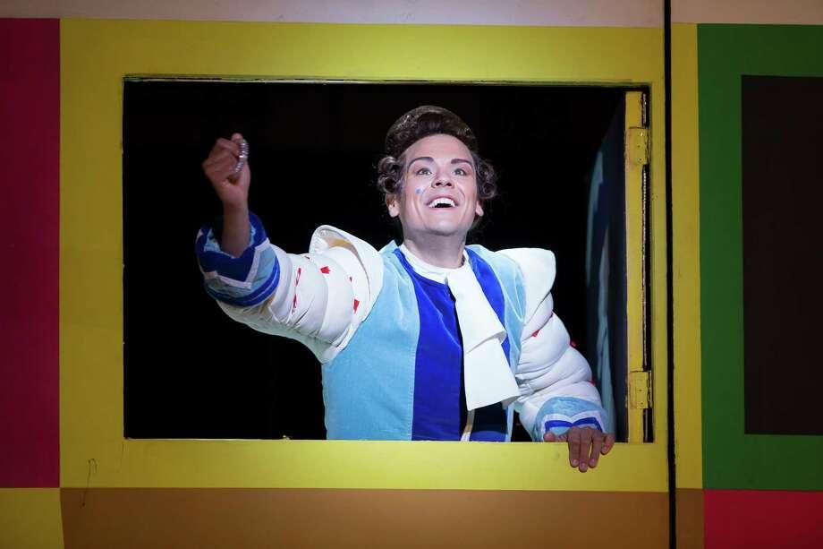 "Native San Antonian David Portillo performs the role of Ramiro in the Washington National Opera's 2015 production of ""La Cenerentola"" (""Cinderella""). Photo: Courtesy /Washington National Opera / Photo by Scott Suchman/WNO"