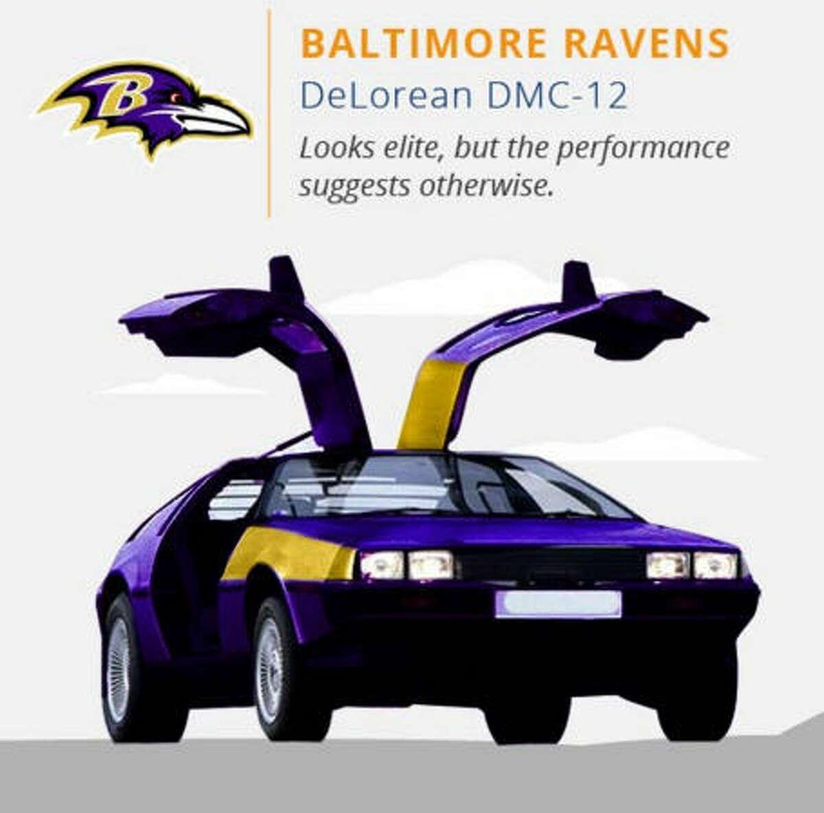 Baltimore Ravens Courtesy CJ Pony Parts