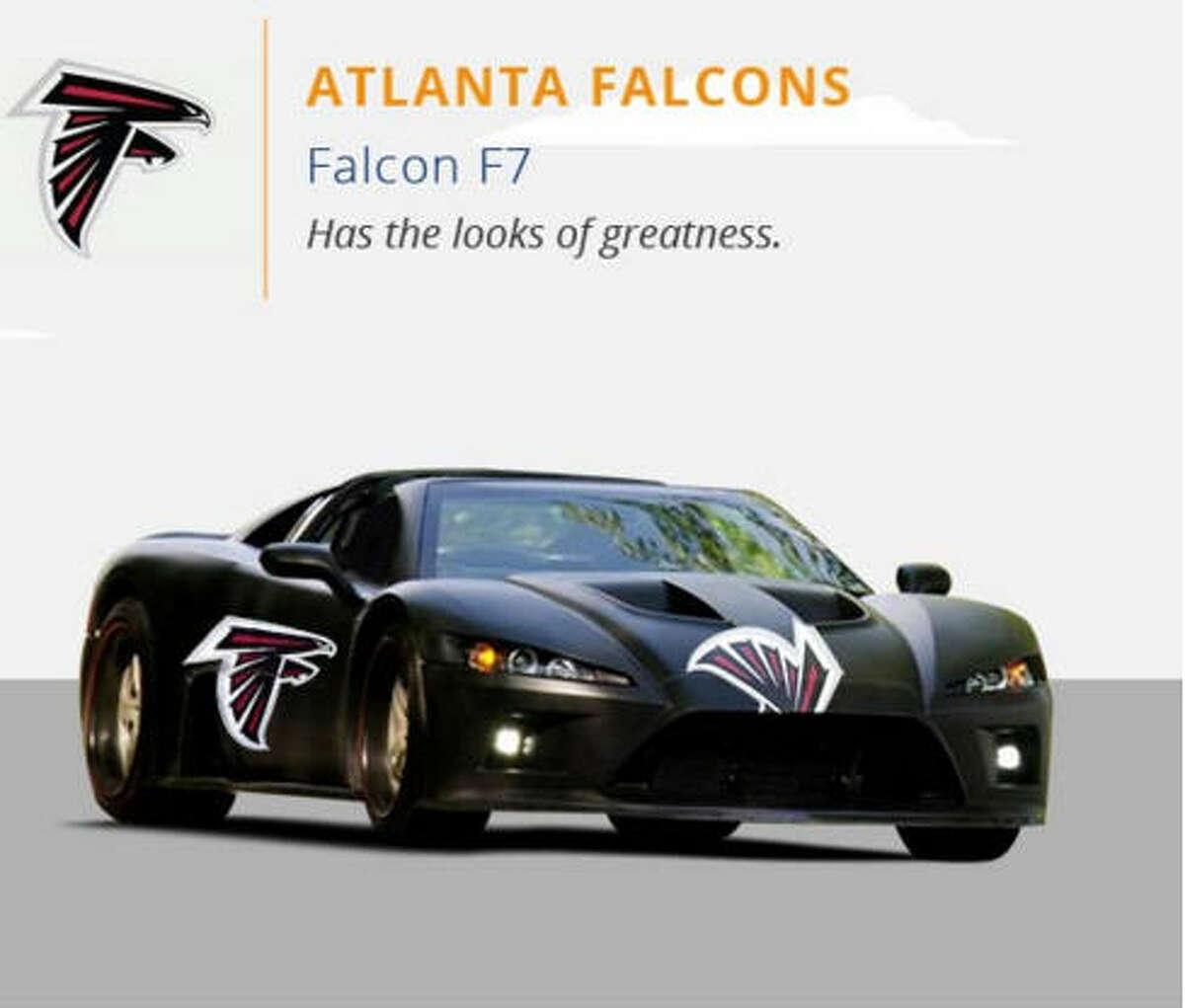 Atlanta Falcons Courtesy CJ Pony Parts