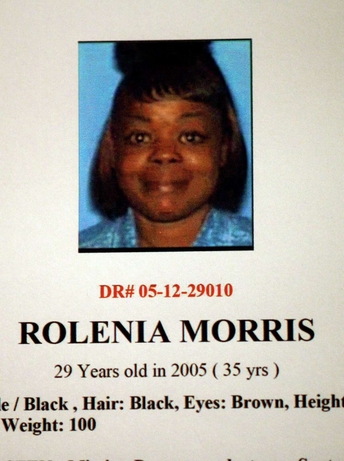 Rolenia Morris is one of eight new possible victims in the Lonnie Franklin Jr serial killer Grim Sleeper case. She has been missing since September, 2005. Los Angeles Police Dept detective provided some new information regarding the ongoing investigation ofthe well-known