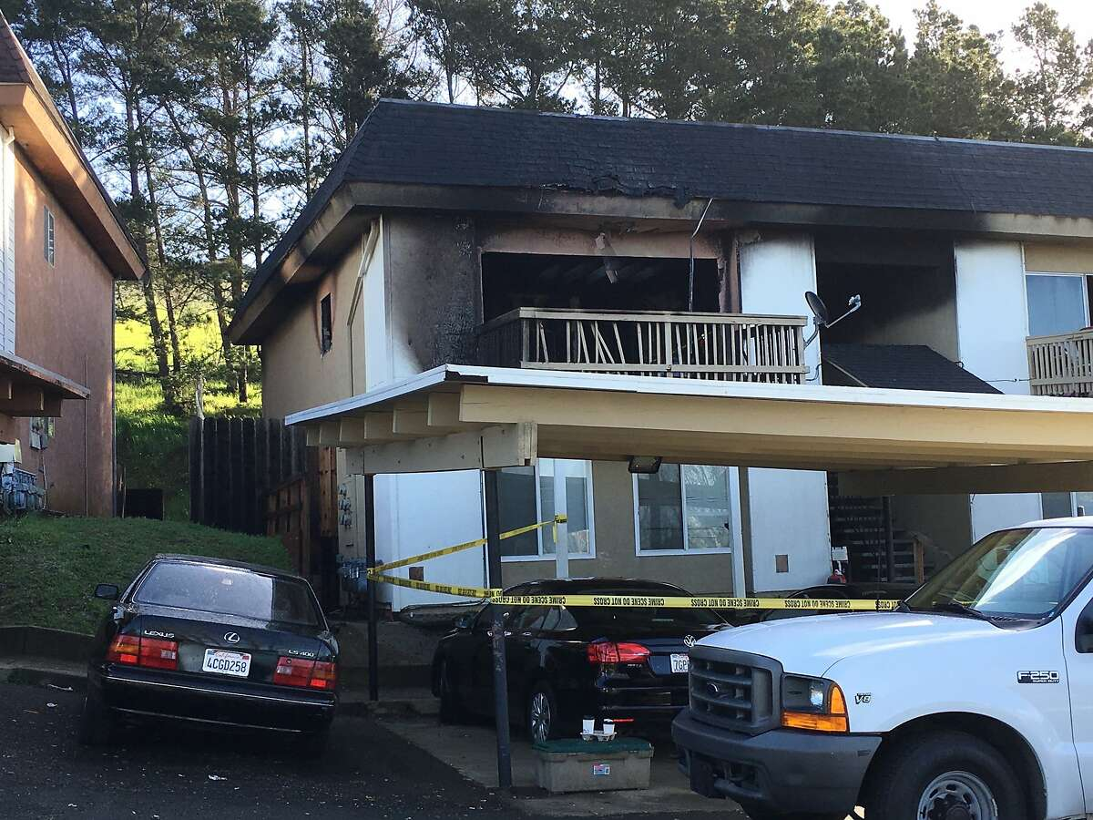 Fire severely damaged the apartment complex on Kathy Ellen Drive in Vallejo.