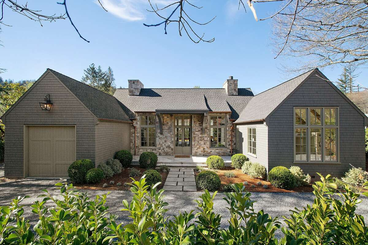 Bay Area designer Wendy Posard designed 25 Sir Francis Drake Blvd. in Ross, a newly constructed custom home listed for $2.995 million.