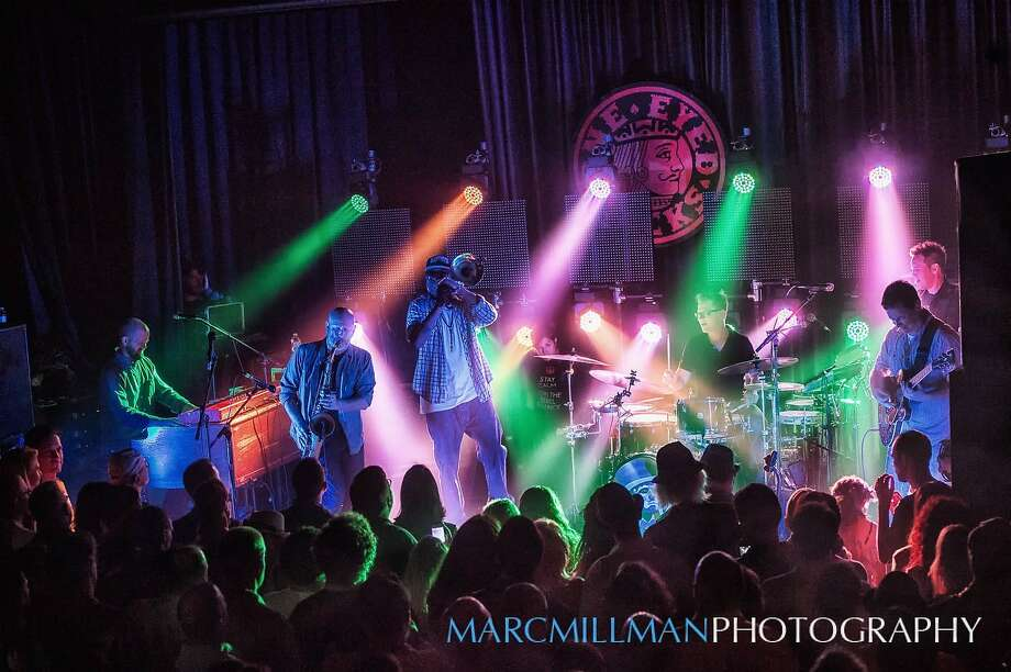 The New Orleans band Galactic plays Masonic Auditorium on Saturday, March 5. Photo: Marc Millman Photography