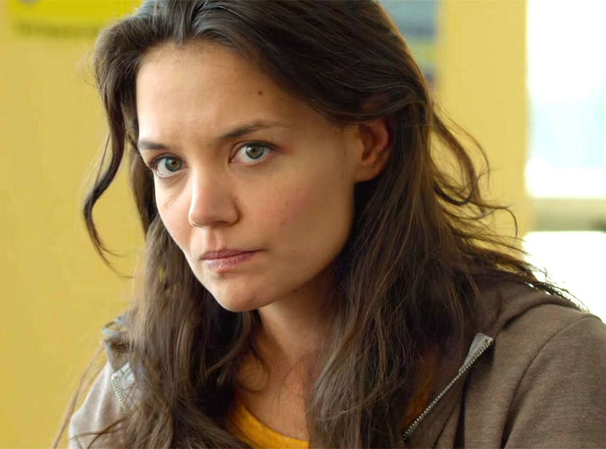 """Katie Holmes stars as a manic-depressive poet in """"Touched With Fire."""""""