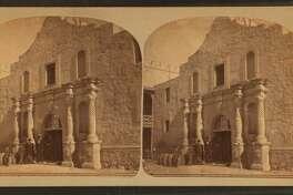 San Antonio Alamo, late 1800s (H.A. Doerr)