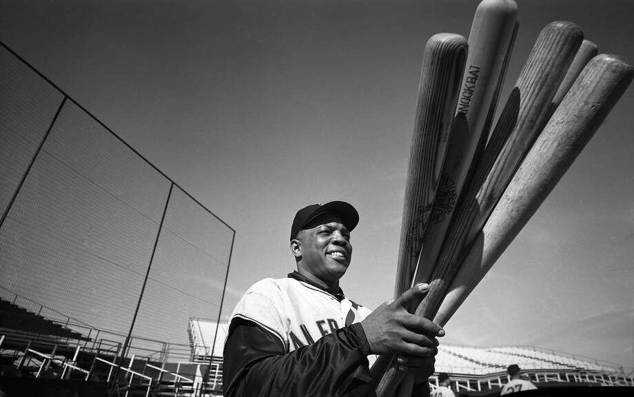 Willie Mays during Giants spring training on Feb. 23, 1962. Photo: Rogers Photo Archive, Getty Images