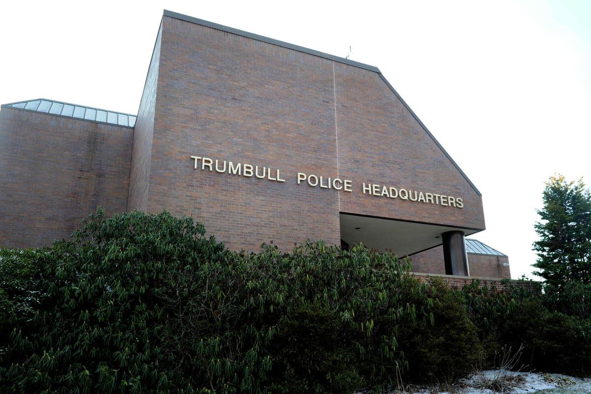 Exterior, Trumbull Police Headquarters, in Trumbull, Conn. Jan. 14, 2016.