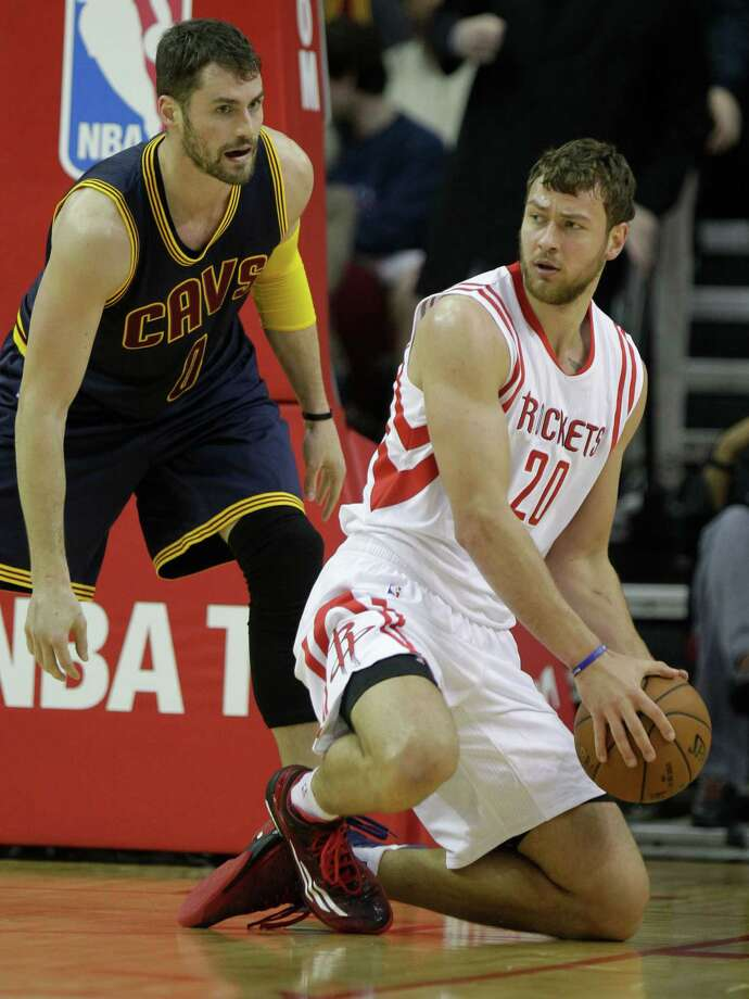 File photo of former Houston Rockets Donatas Motiejunas from 2015. Photo: Melissa Phillip, Staff / © 2014  Houston Chronicle