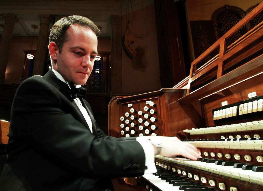 Colin Lynch, associate director of music at Trinity Church in Boston, will perform an organ recital Feb. 28 at Christ & Holy Trinity Episcopal Church following an Evensong choral service. Photo: Contributed Photo / Westport News
