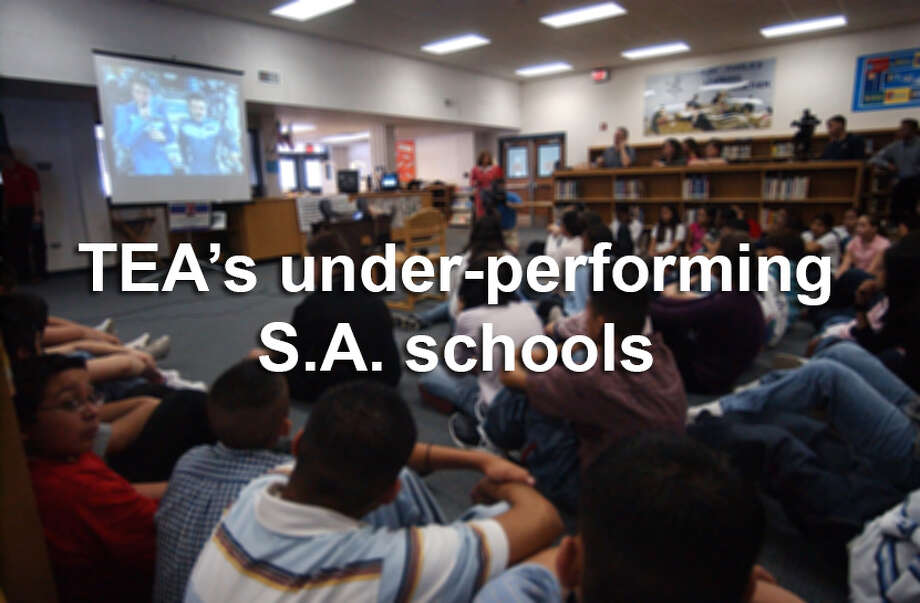 The San Antonio schools on this TEA list of under-performing schools in 2015 are arranged by district, alphabetically, starting with Edgewood ISD.