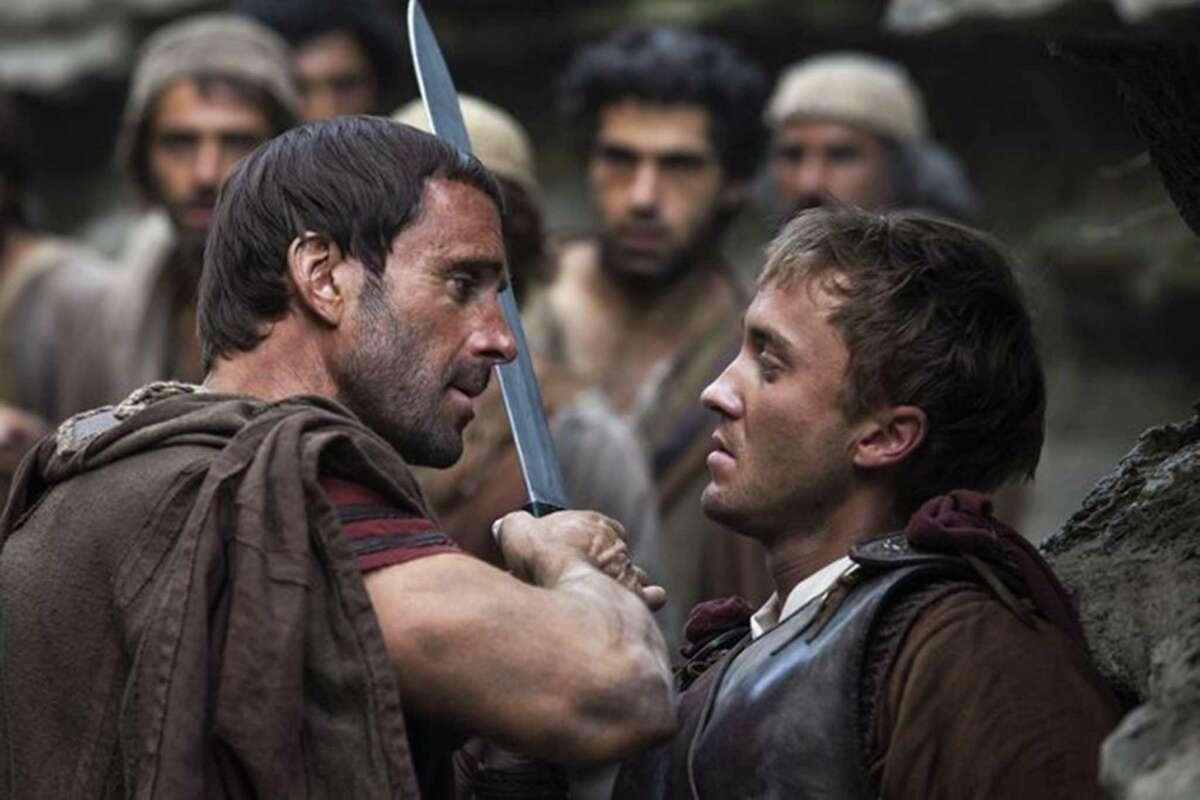 """Joseph Fiennes, left, and Tom Felton star in """"Risen."""""""