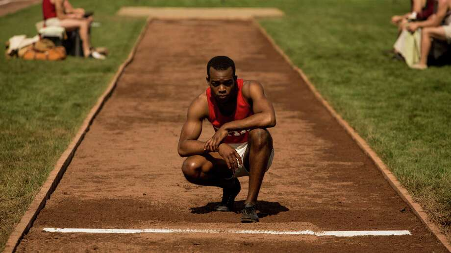 """The new film """"Race"""" starring Stephan James as Jesse Owens chronicles the track and field legend's life, the racism he had to endure and his historic performance at the Nazi-run 1936 Olympics in Berlin.Click through the gallery to see other movies in which sports and race relations played prominent roles. Photo: Thibault Grabherr, HONS / Focus Features"""