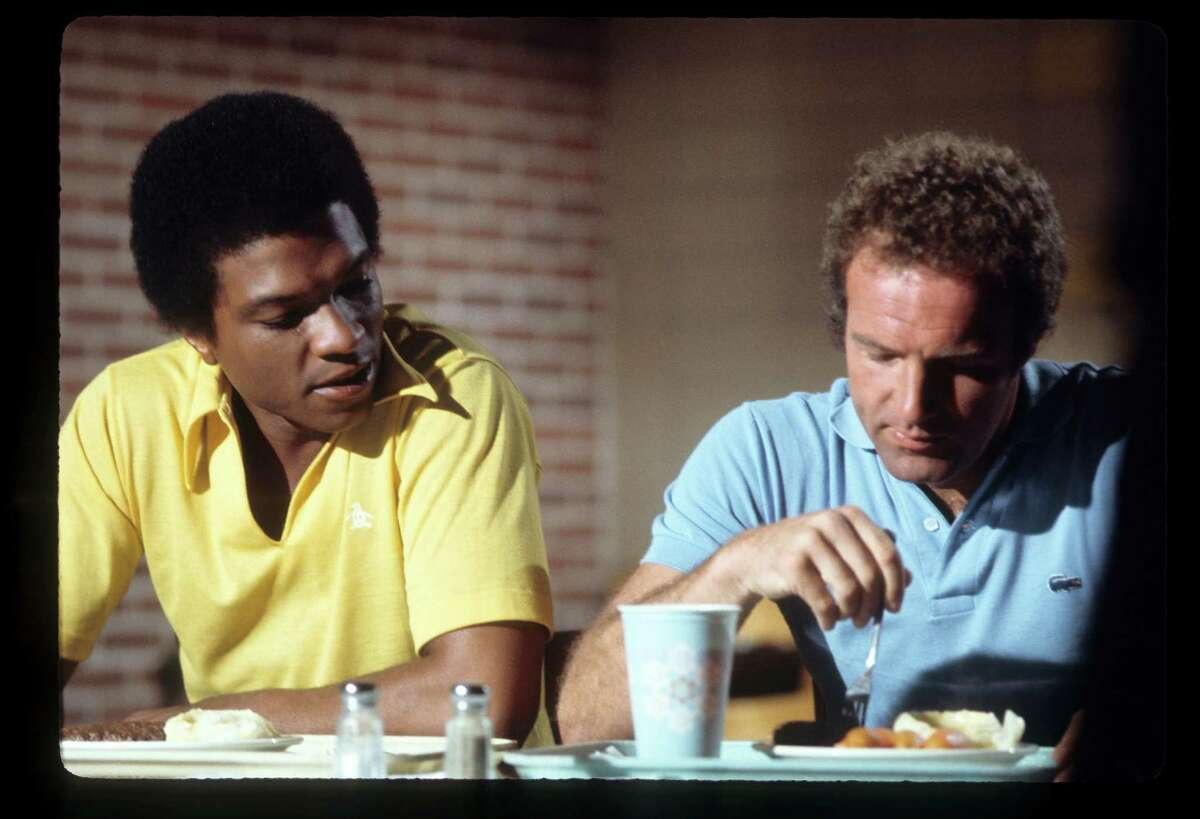"""Brian's Song Released: 1971 (TV movie) This tearjerker is on the short list of best TV movies ever made and details the friendship between Chicago Bears teammates Gale Sayers (played by Billy Dee Williams, left) and Brian Piccolo (James Caan). They were the first interracial roomates in the NFL, and the movie chronicled their friendship and Piccolo's cancer diagnosis. Its most memorable scene is Sayers' emotional speech after he received the George Halas Award for courage, with Sayers saying there was someone more deserving of the award and adding """"I love Brian Piccolo, and I'l like all of you to love him, too."""""""