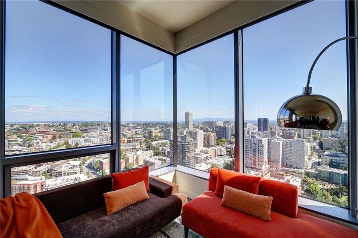 The living spaces in the penthouse provide remarkable views. It is at 1525 Ninth Ave.