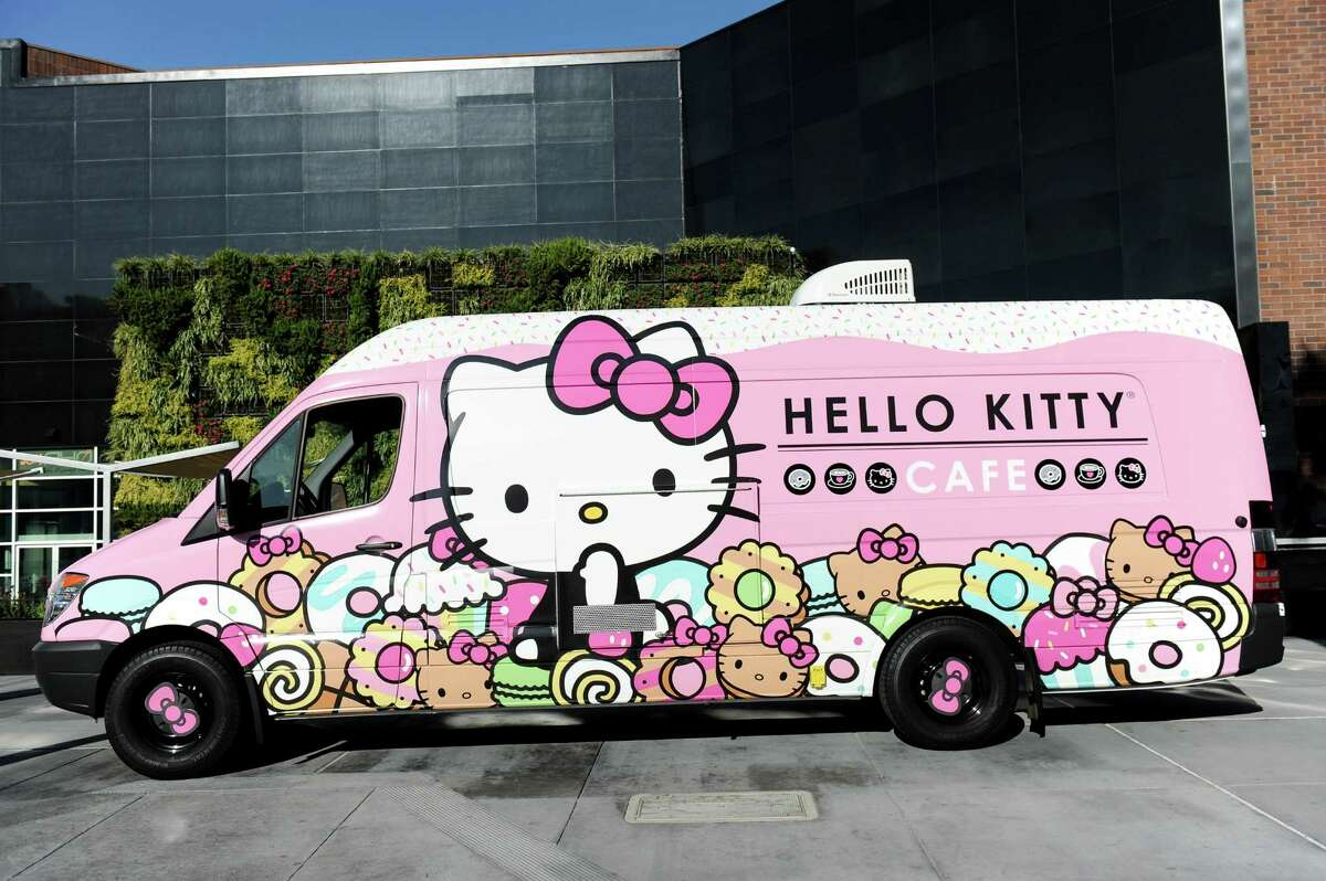 The Hello Kitty Cafe Truck.