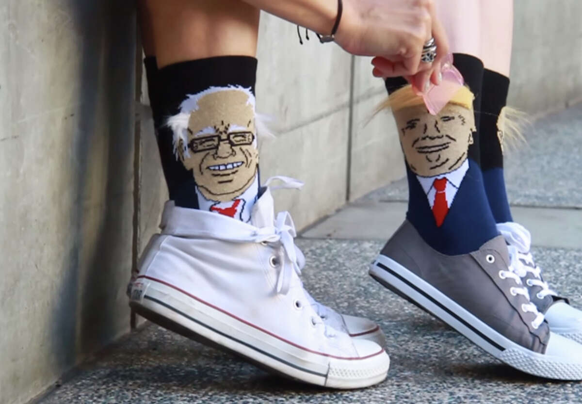 Limited edition election presidential election HAIR SOCKS created by Gumball Poodle, $29.99 a pair at www.alwaysfits.com