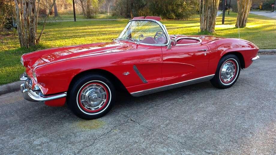 Corvette Convertible Route TV Show Fan Fave Houston Chronicle - Route 66 tv show car