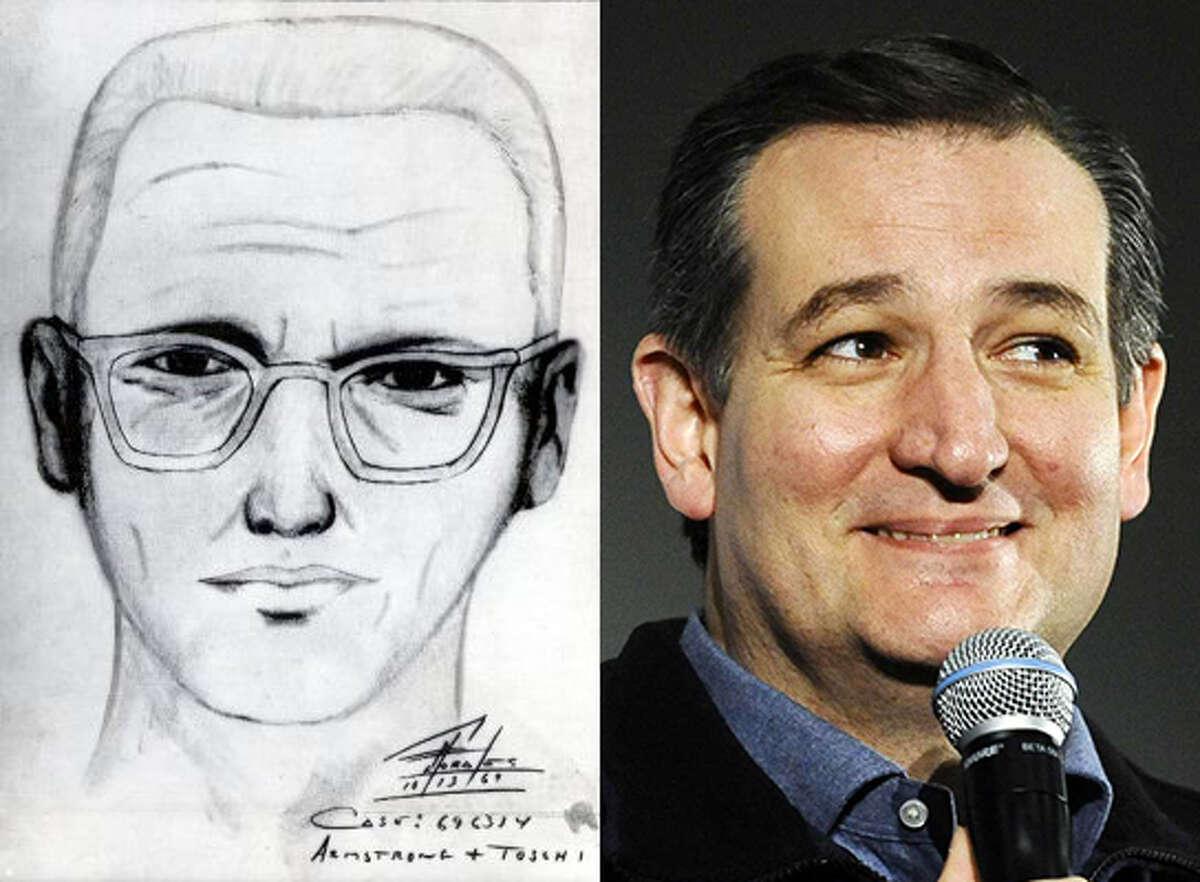 Some people jokingly posit that freshman Republican Sen. Ted Cruz could be the infamous Zodiac killer.