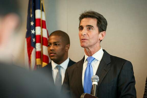 Senator Mark Leno announces new legislation that seeks to make public law enforcement records transparent when it comes to serious uses of force and sustained charges of misconduct on Friday, Feb 19, 2015 in San Francisco, Calif.